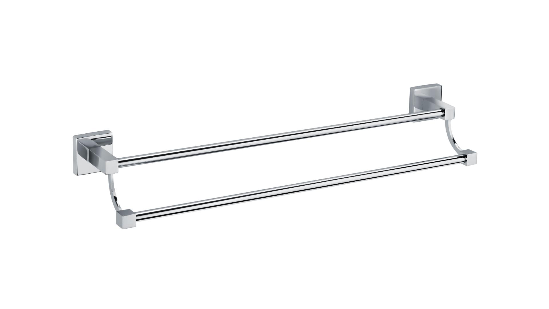 Полотенцедержатель трубчатый 2-ой (60 см.) Metra