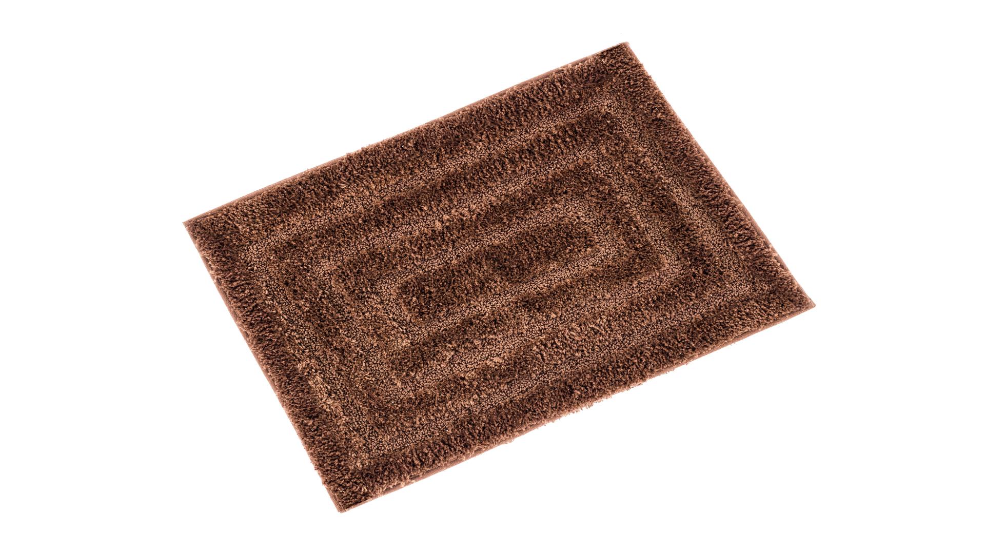 Коврик для ванной Bear коричневый