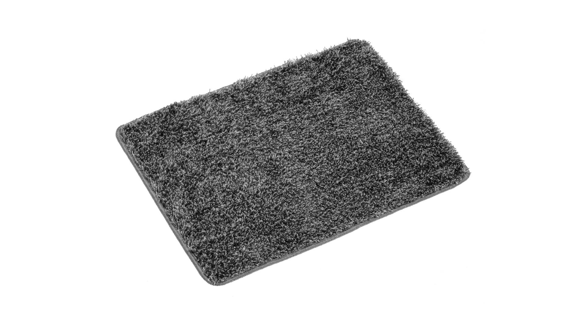 Коврик для ванной Amadeo серый