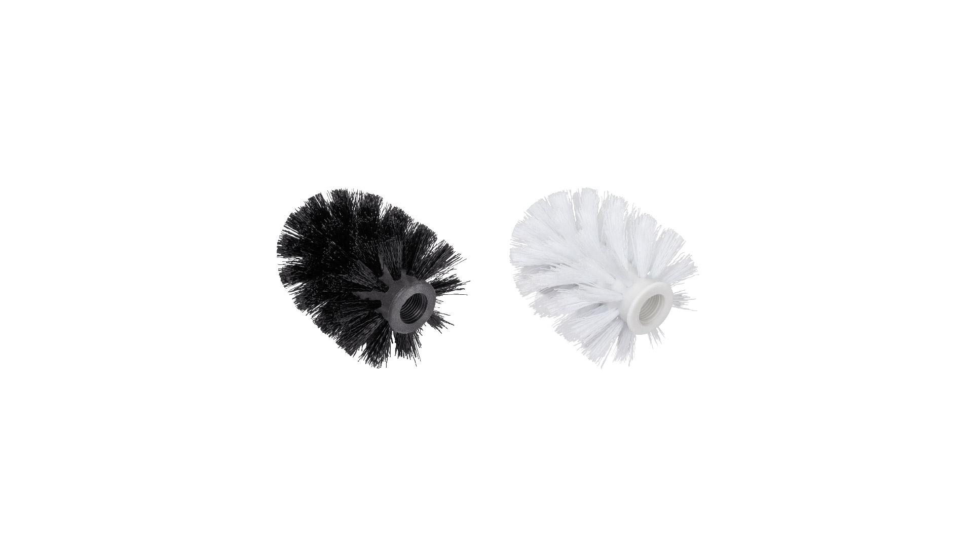 Набор щеток (черная, белая) Kvadro