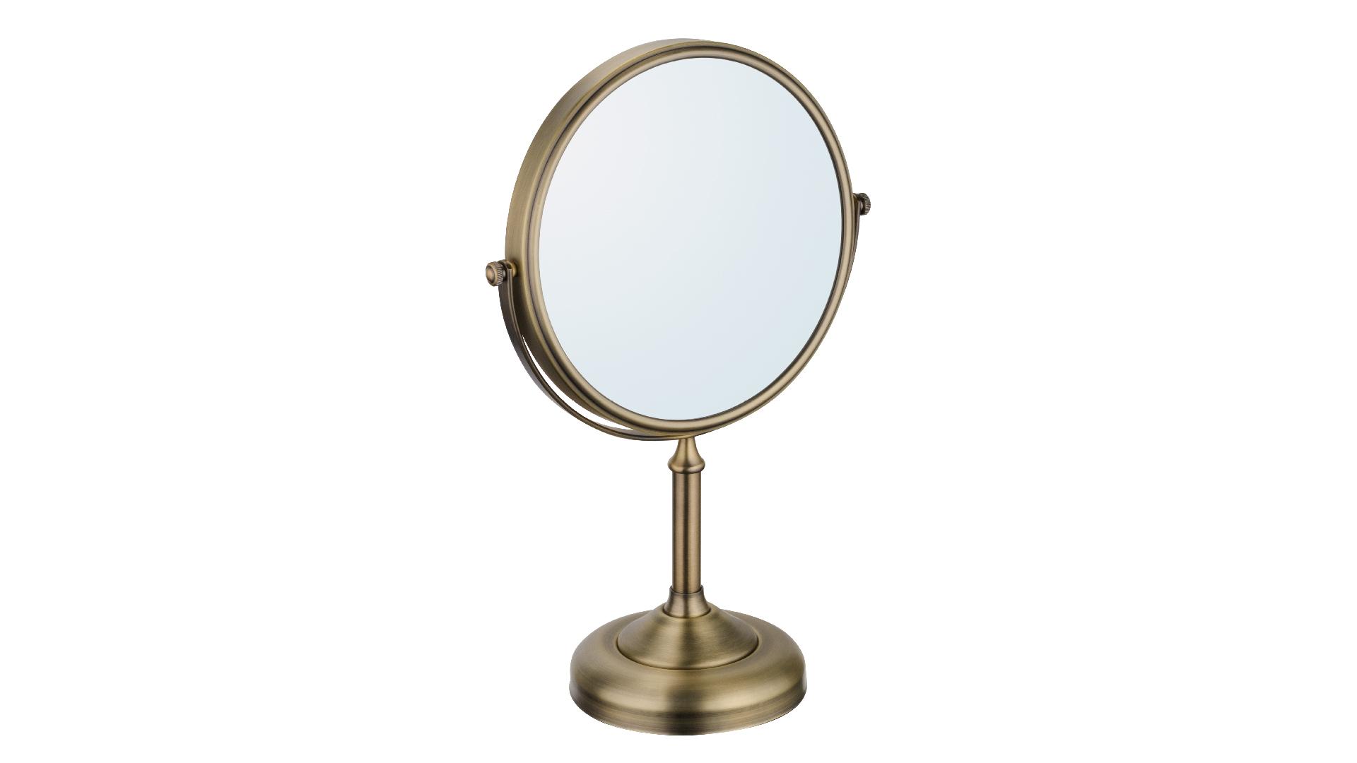 Зеркало косметическое настольное Antik