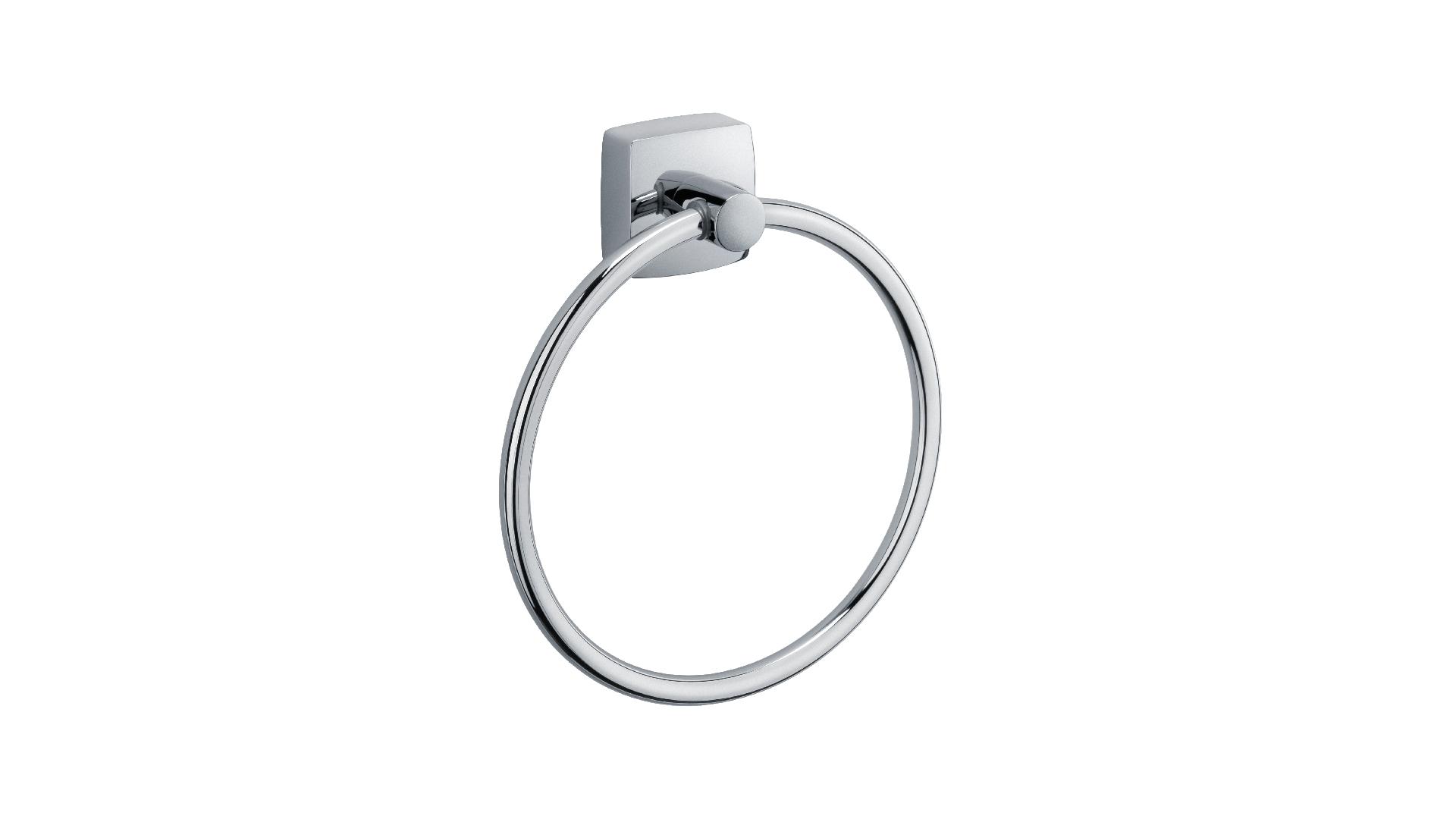 Полотенцедержатель кольцо Kvadro