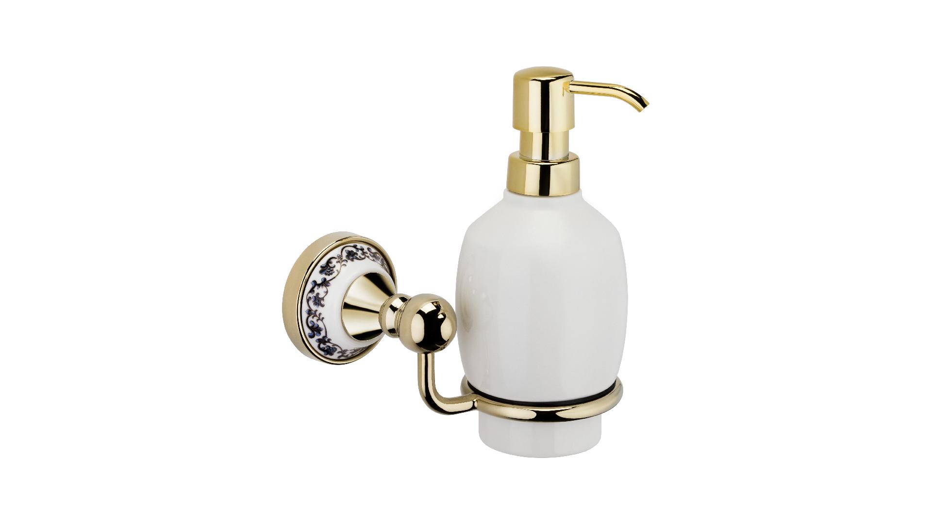 Дозатор жидкого мыла Bogema Gold