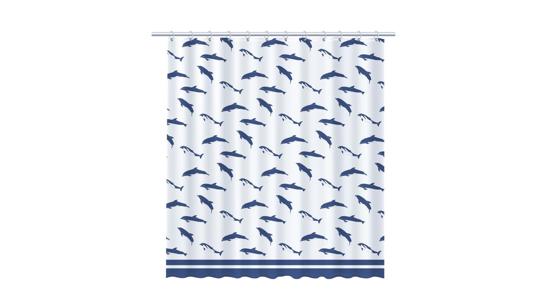 Штора Dolphins