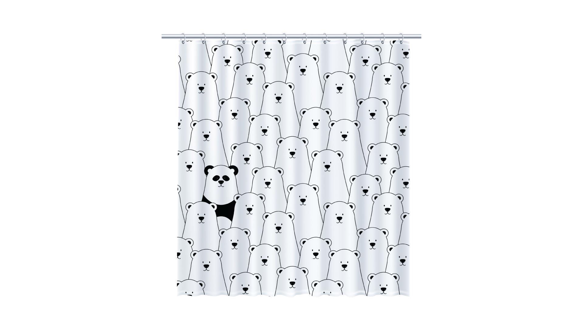 Штора Panda