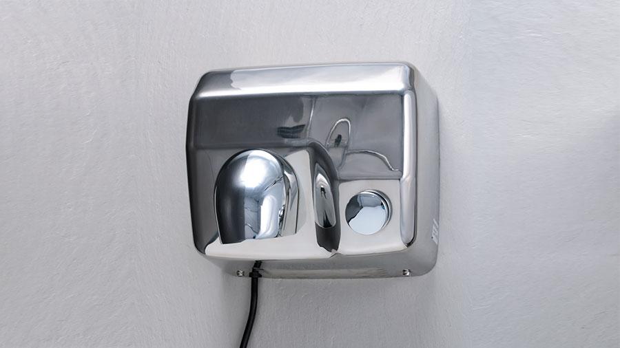 Secador de manos 2300w con tobera orientable